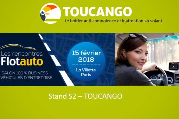 Toucango dispositif anti somnolence sur Flotauto 2018