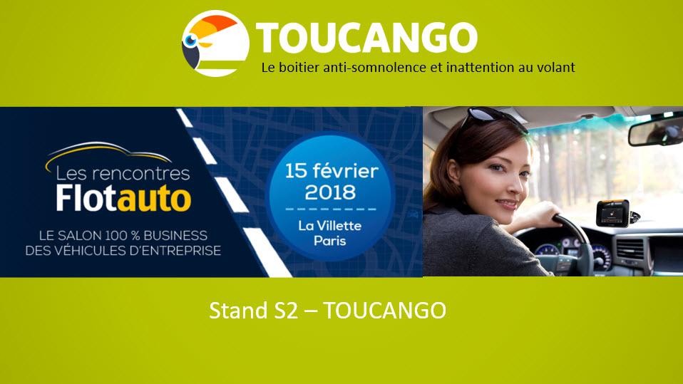 Toucango dispositif anti somnolence sur Flotauto 2018