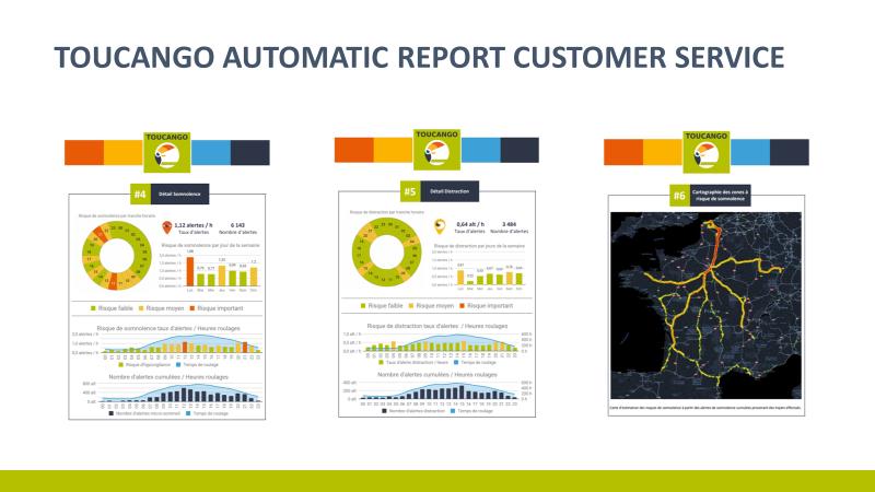 TOUCANGO Customer automatic data service