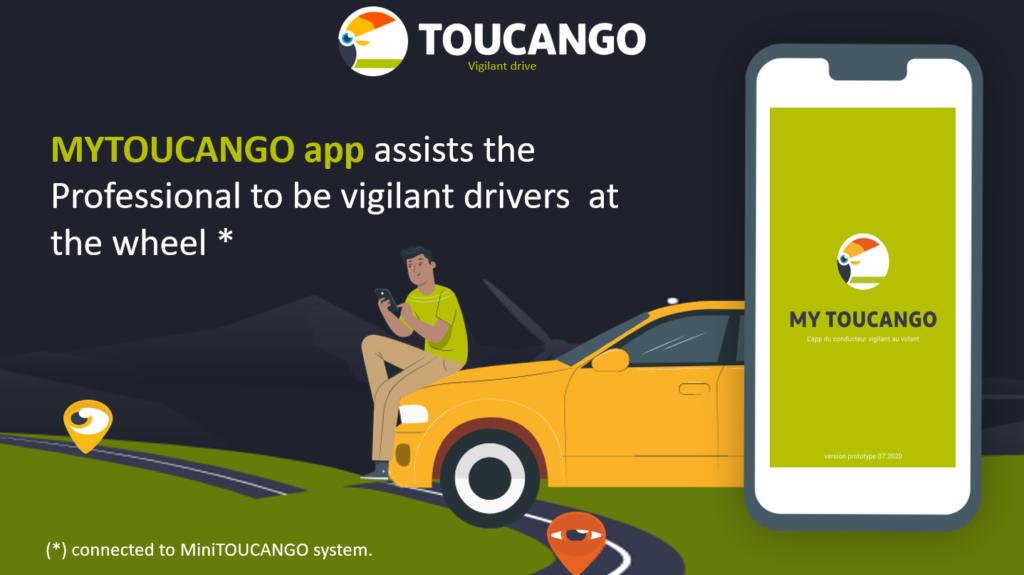 MY TOUCANGO app for the vigilant drivers at the wheel