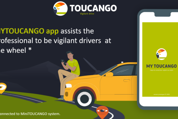 MY TOUCANGO app for the vigilant drivers at the wheel