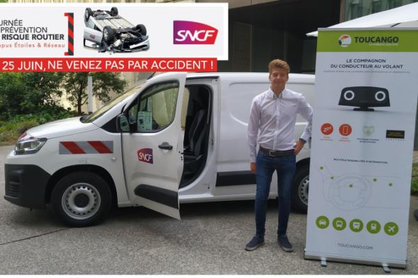 Image Toucango sur véhicule SNCF