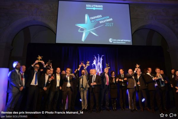 TOUCANGO winner of innovation at Solutrans automotive show 2017